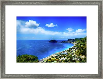 A Side Of Ischia Framed Print by Alessandro Giorgi Art Photography