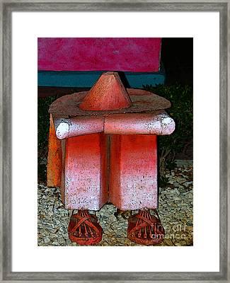 A Siesta In Santiago - Panama Framed Print by Al Bourassa