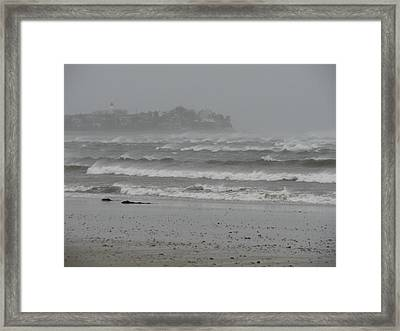 A Sign Of The Tides Framed Print