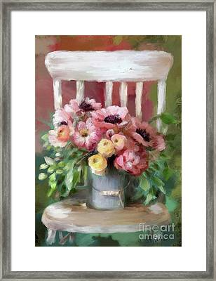 A Simple Bouquet Framed Print