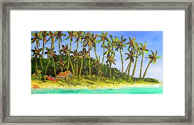 A Simple Life#374 Framed Print by Donald k Hall
