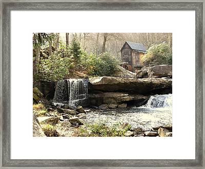 A Simple Place And Time Framed Print by Wallace Marshall