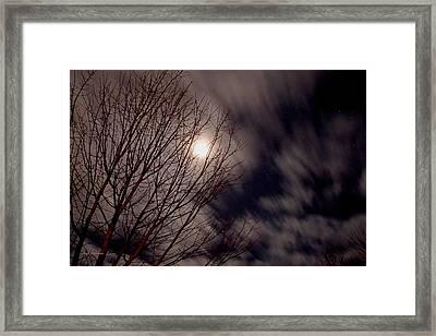 A Sky In Motion Framed Print
