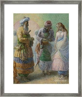 A Slave For The Harem Framed Print