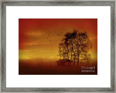 A Slice Of Country Framed Print by KaFra Art