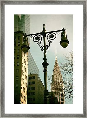 A Slice Of New York Framed Print by Jessica Jenney