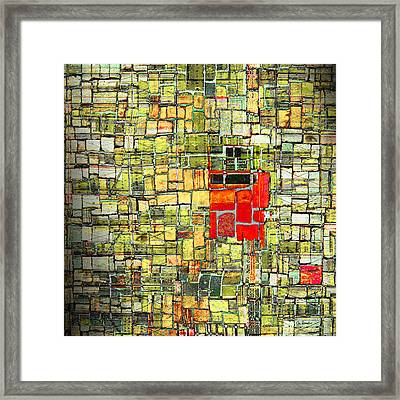 A Slow Remembering Framed Print
