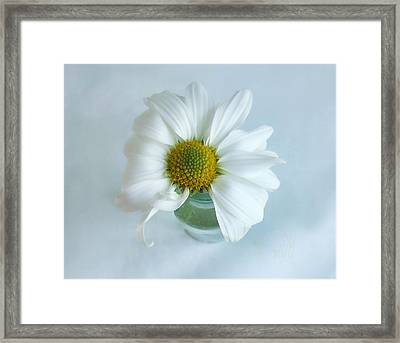 Framed Print featuring the photograph A Small Pleasure by Louise Kumpf