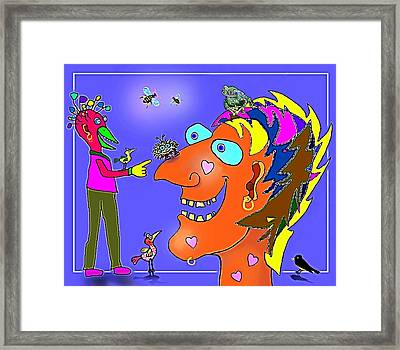 A Smile A Day . . . Framed Print by Hartmut Jager