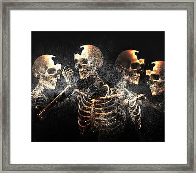 A Social Event Framed Print by Solomon Barroa