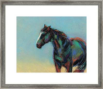 A Soft Breeze Framed Print by Frances Marino