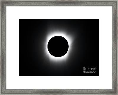 A Solar Eclipse Framed Print