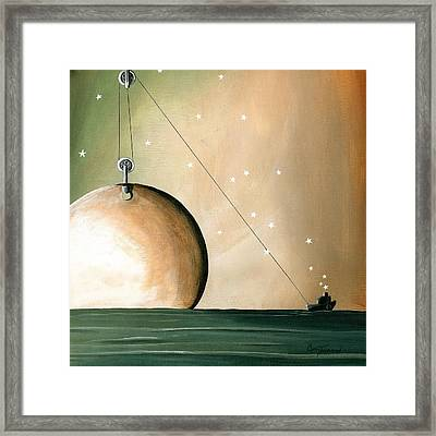A Solar System Framed Print by Cindy Thornton