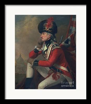 Redcoat Paintings Framed Prints