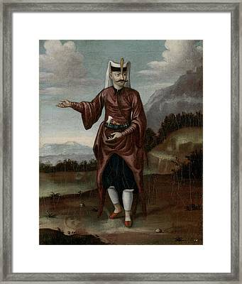 A Soldier Of The Janissaries Framed Print