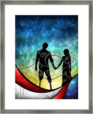A Soldiers Sacrfice Framed Print