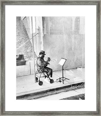 A Soldier's Song Framed Print