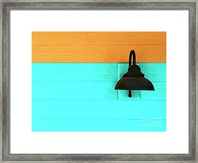 A Solitary Light Framed Print