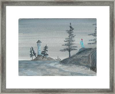 A Song For Lost Souls... Framed Print by Robert Meszaros