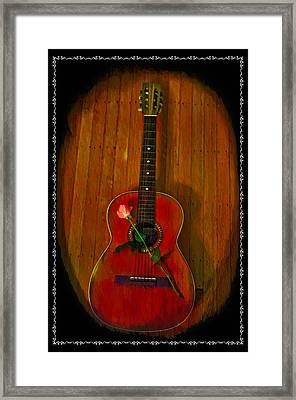 A Song For My Love Framed Print by Bill Cannon