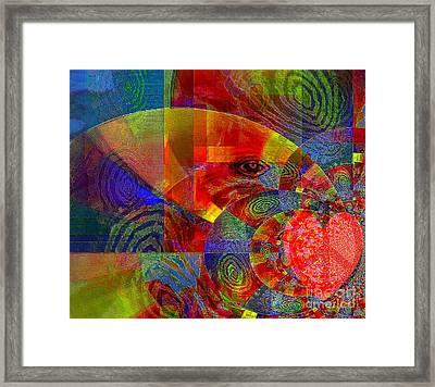 A Special Kind Of Love Framed Print by Fania Simon