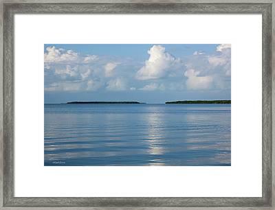 A Special Place In Islamorada Florida Keys Framed Print by Michelle Wiarda