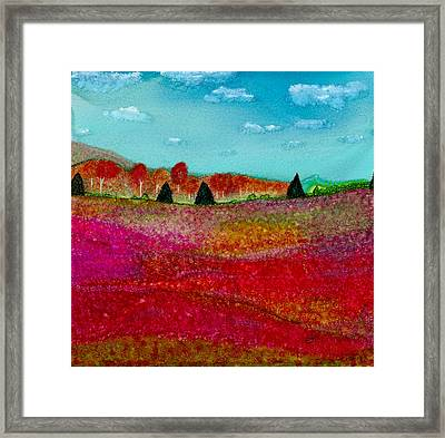 A Special Time Of Year Framed Print