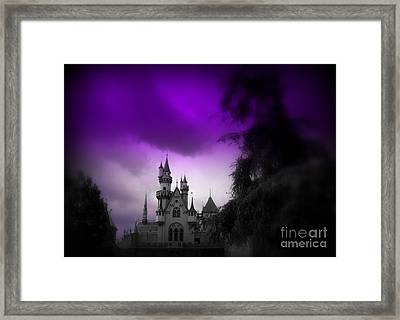 A Spell Cast Once Upon A Time Framed Print by Susan Lafleur