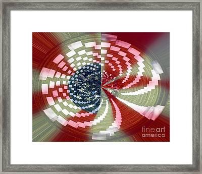 A Spin On Arlington Framed Print