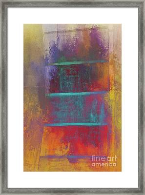 A Splash Of Color Framed Print