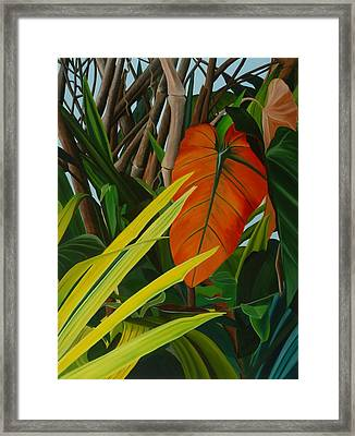 A Spring March Framed Print by Sunhee Kim Jung