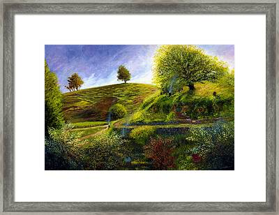 A Spring Morning At Bag End Framed Print by Dale Jackson