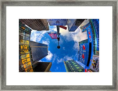 A Square Perception Framed Print by Joshua Ball