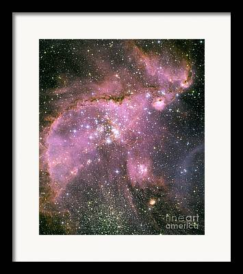 Starforming Framed Prints