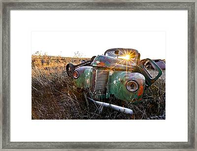 A Star In Its Time Framed Print by James Steele