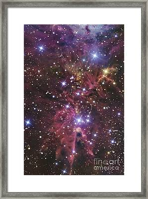 A Stellar Nursery Located Towards Framed Print by R Jay GaBany