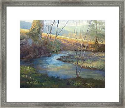 A Step Away Framed Print by Jonathan Howe