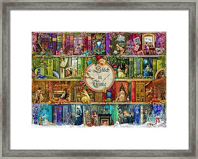 A Stitch In Time Framed Print by Aimee Stewart
