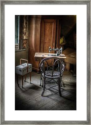 A Stitch In Time Framed Print by Nathan Wright