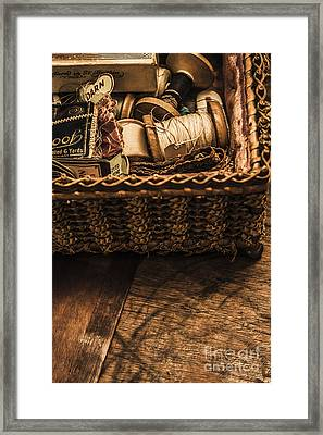 A Stitch In Time Framed Print by Jorgo Photography - Wall Art Gallery