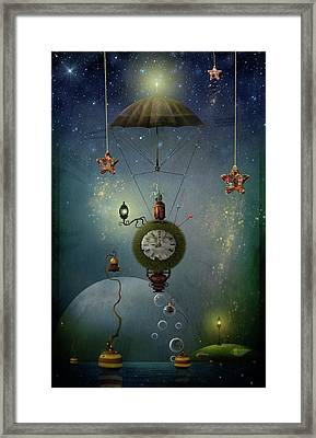 A Stitch In Time Saves Nine Framed Print