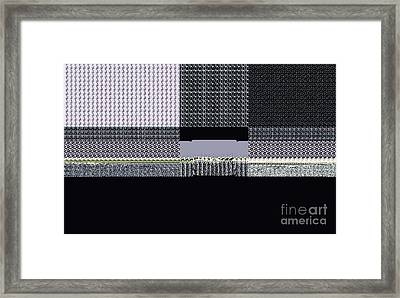 A Stitch In Time Framed Print by Thomas Smith