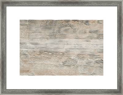 A Stone Surface Framed Print by Tom Gowanlock