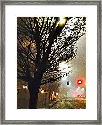 A Stop On My Journey Framed Print