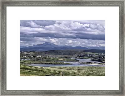 A Storied Landscape Framed Print by Frank Fullard