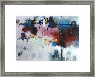 A Story About Them Framed Print by Dale  Witherow