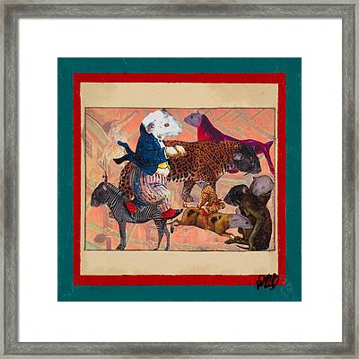 A Strange And Wonderful People Framed Print