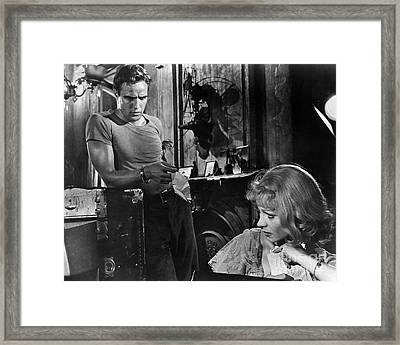 A Streetcar Named Desire Framed Print by Granger