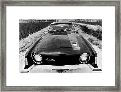 A Studebaker Avanti Framed Print
