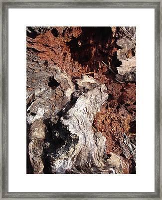 A Sublime Descent Framed Print